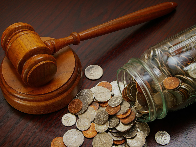 Recovery of debts in court for civil bargains, the recovery of losses and unjust enrichment